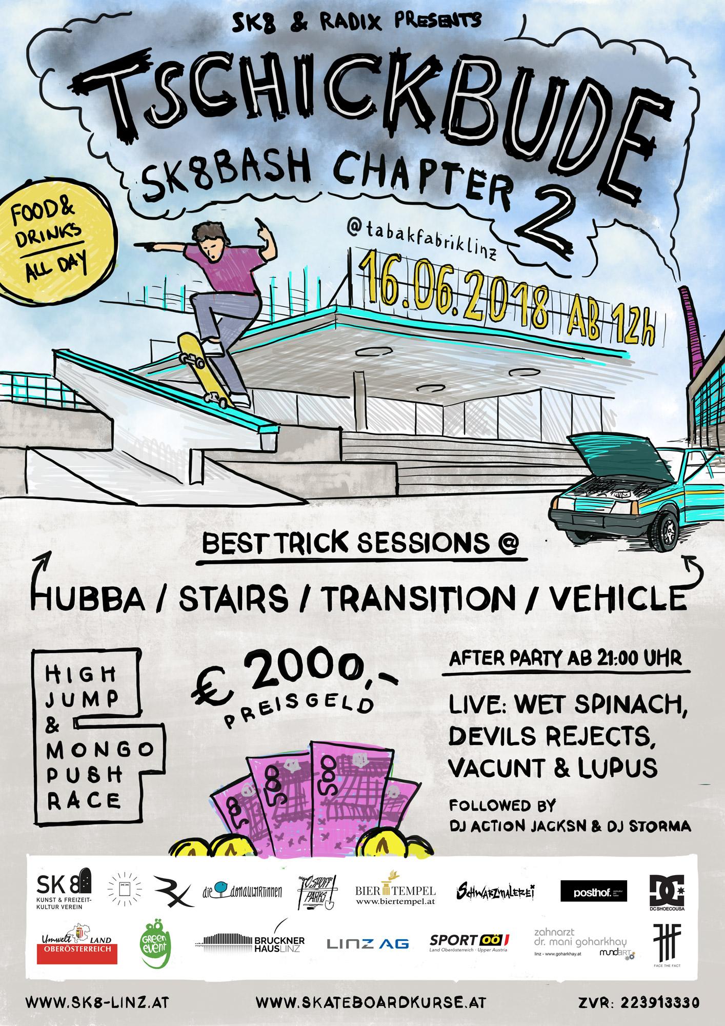 Tschickbude Sk8bash Chapter II